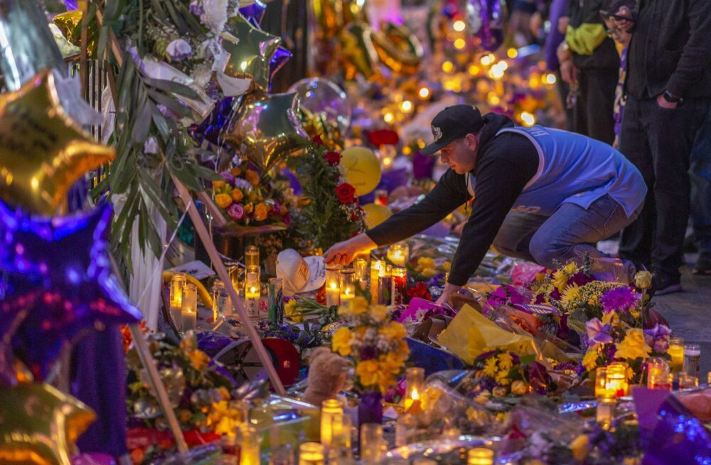 Kobe Bryanti ja tema tütre surmaga lõppenud kopteriõnnetuse kohta selgus uusi detaile: kopterilt puudus maastiku lähedusest märku andev seadeldis