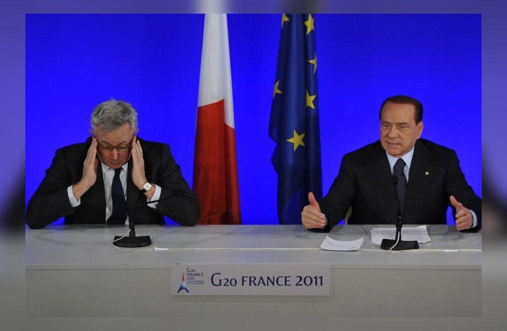 Itaalia probleemid süvenevad ja laenuintressid tõusevad