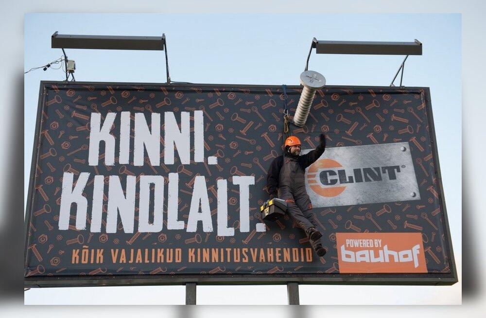 Bauhofi reklaam Pirita teel