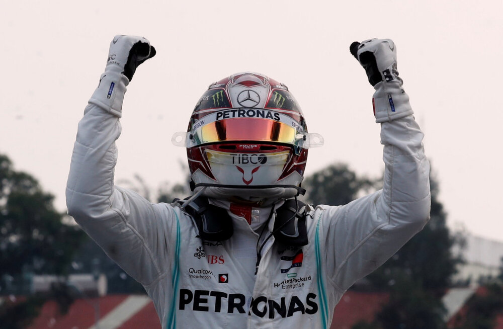 BLOGI | Hamilton võidutses Mehhikos ja astus suure sammu kuuenda MM-tiitli suunas