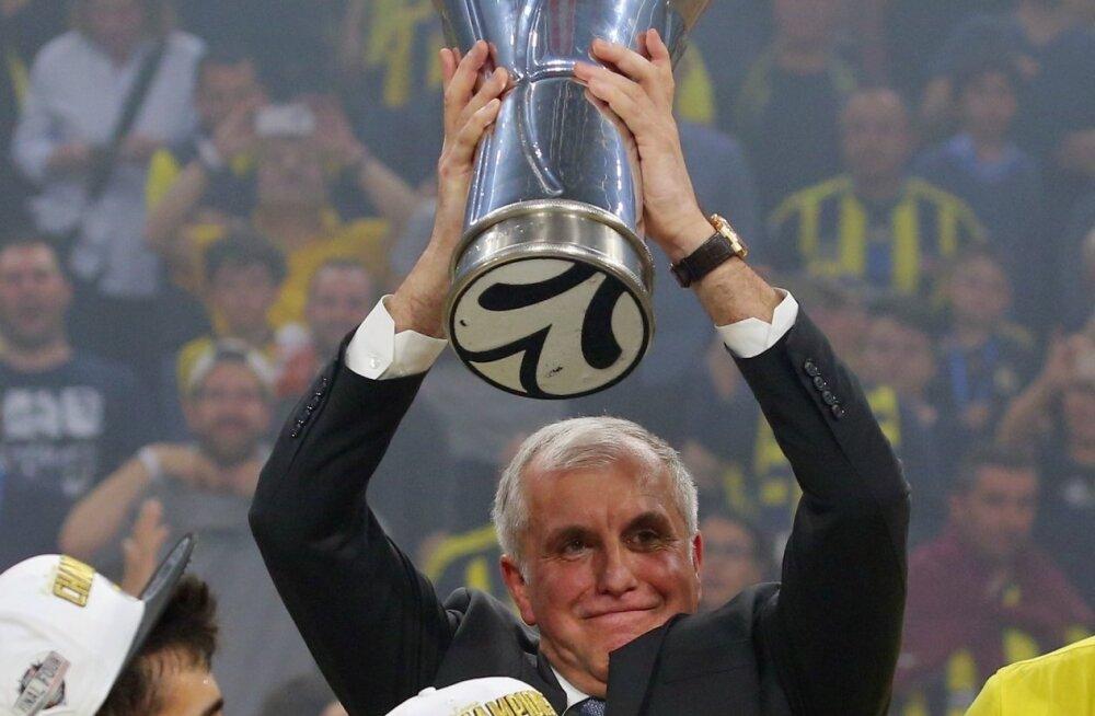 Kas Željko Obradovic võidab peatreenerina veel ühe Euroliiga tiitli?