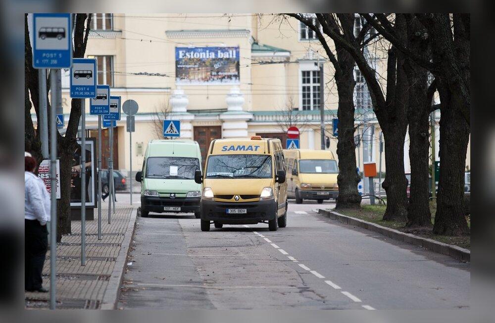 Venelased pelgavad marsruuttaksodega sõitmist