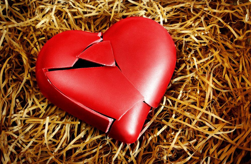 Elu murtud südamega on nagu köielkõnd