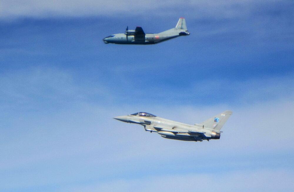 NATO hävitajatel tuli venelaste pärast teisipäeval korduvalt taevasse kerkida