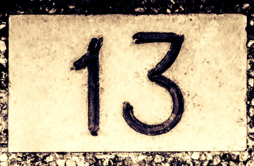 MAAGILINE PÄEV: täna on 13. kuupäev ja reede!