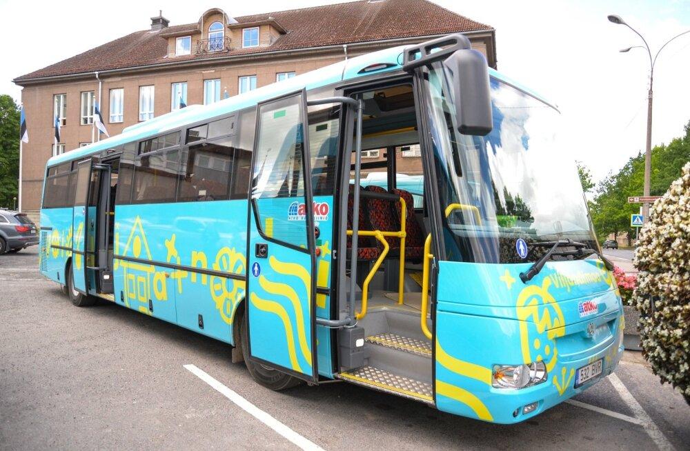 Viljandimaa uued bussid