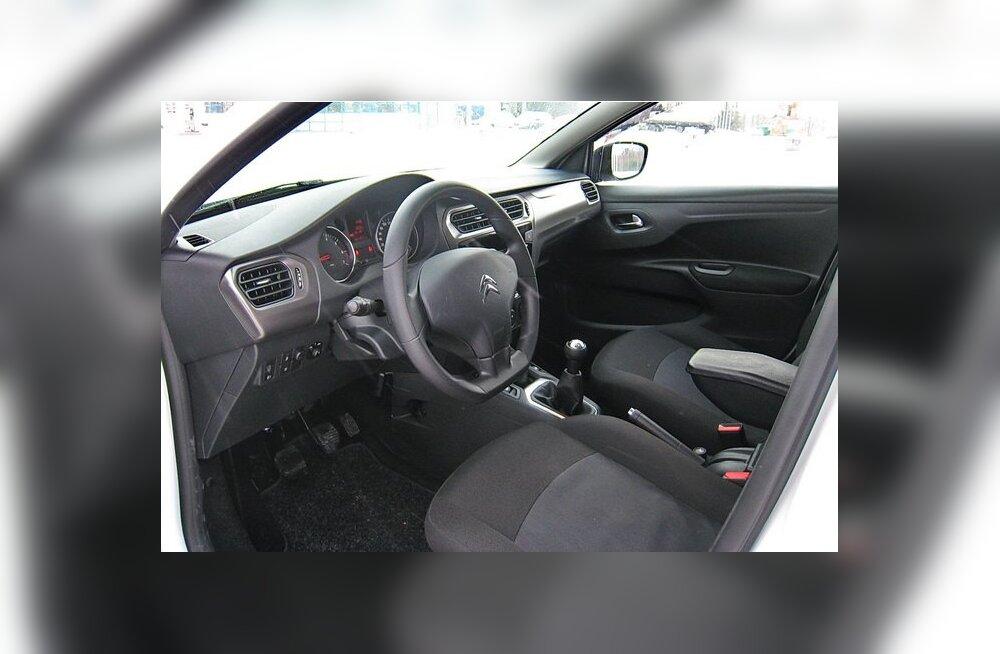 Citroën C-Elysée: säästusedaan Prantsuse moodi vol 2