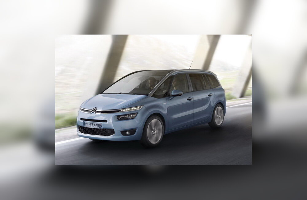 Citroën toob turule 7-kohalise C4 Grand Picasso