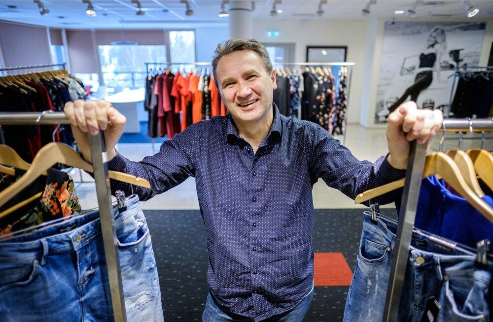 Denim Dreami poeketi omanik Heinar Põldma ütleb, et igasse uude keskusse nad ummisjalu ei torma, sest kauplus peab alati kasumlik olema.