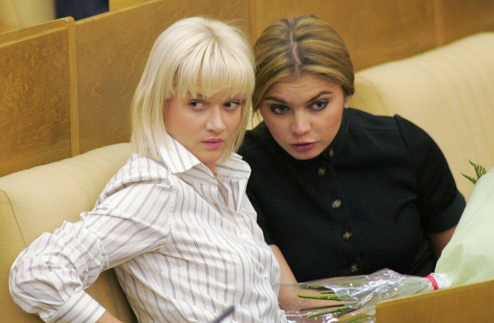 Svetlana Khorkina ja Alina Kabaeva