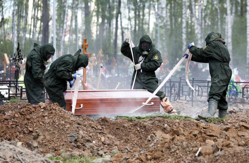 Venemaal jättis ööpäevaga elu rekordarv COVID-19 patsiente, nakatunuid lisandus 9200