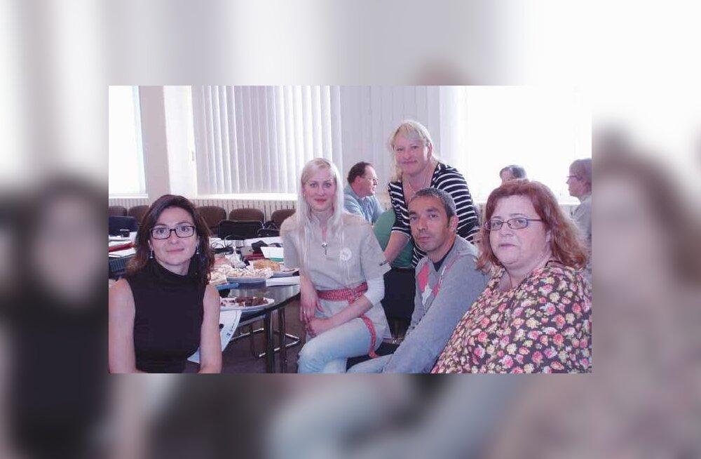 Projektipartnerid seitsmest riigist kohtusid Võrus
