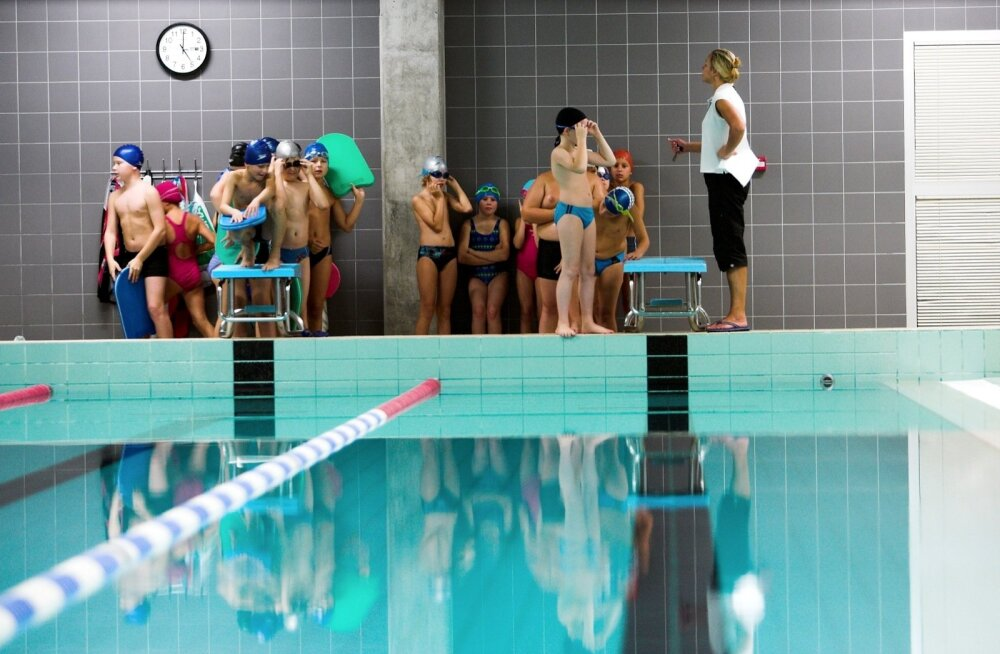 Kultuuriminister Saar: õpetame kõik Eesti lapsed ujuma
