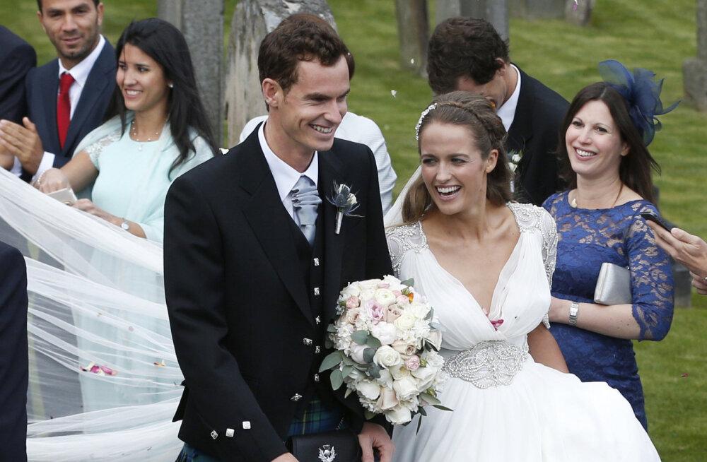Andy Murray abikaasa Kimiga