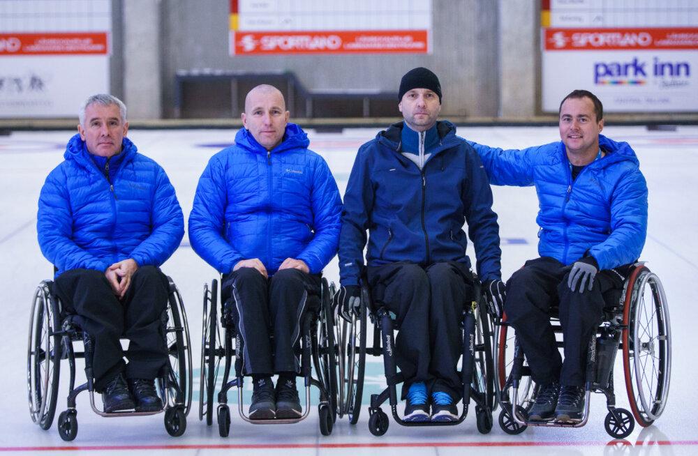 Eesti ratastoolicurlingu võistkond