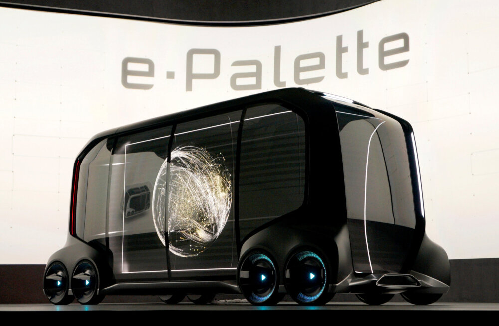 Toyota e-Pallette esitlus CES-il