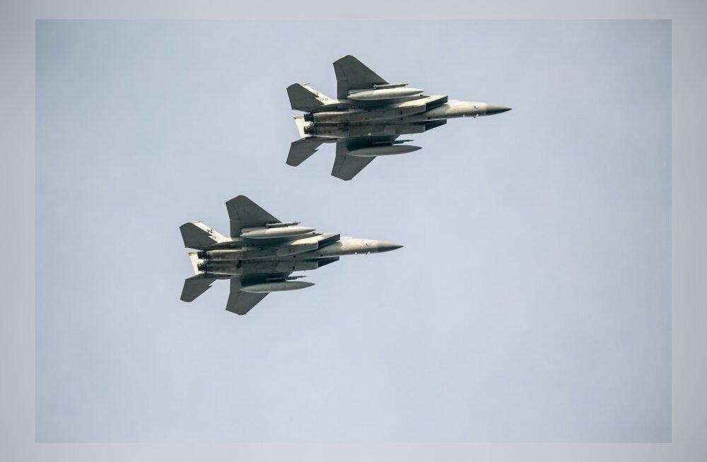 NATO hävitajad Eesti kohal lendamas