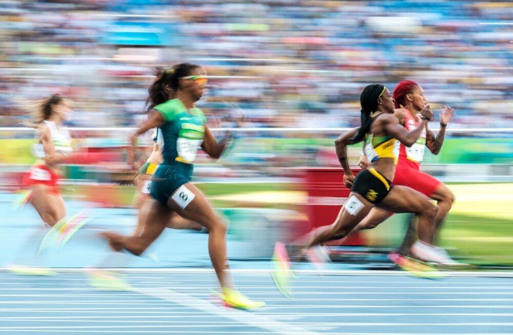 Rio olümpia kergejõustik