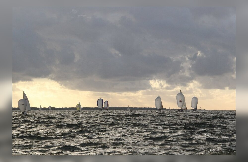 FOTOD: Suurepärased purjetamisolud KJK-Garmin kesknädala regatil