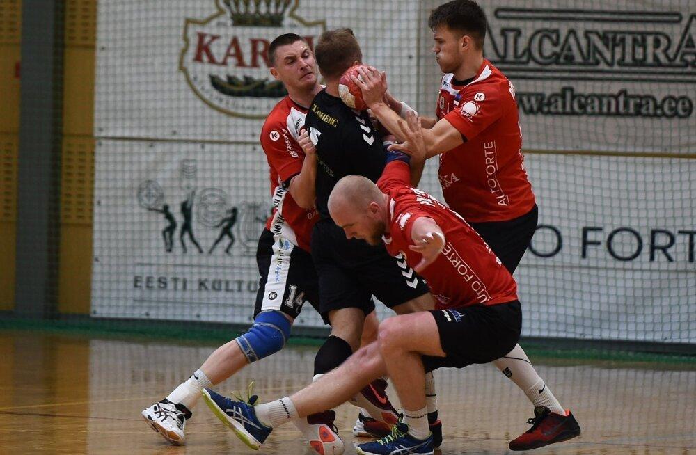 Põlva Serviti mängijad on horvaadist külalise piiramisrõngasse võtnud.