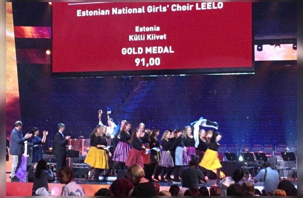 Tubli saavutus! Üle-eestiline neidudekoor Leelo võitis Euroopa kooriolümpia