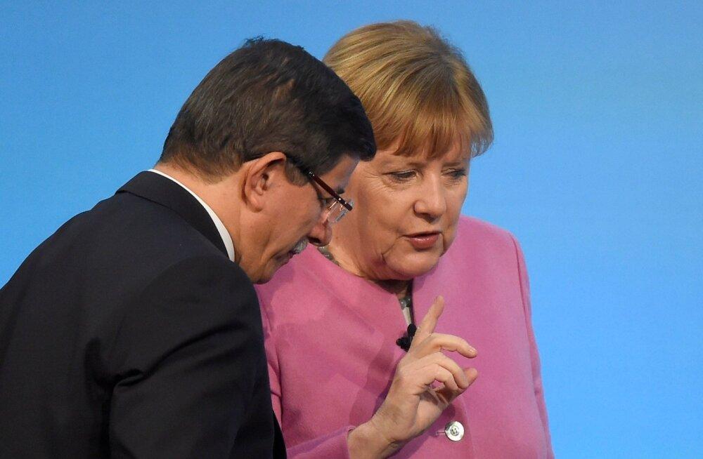Saksamaa ootab Türgilt põgenikekokkuleppe täitmist ka pärast peaminister Davutoğlu tagasiastumist