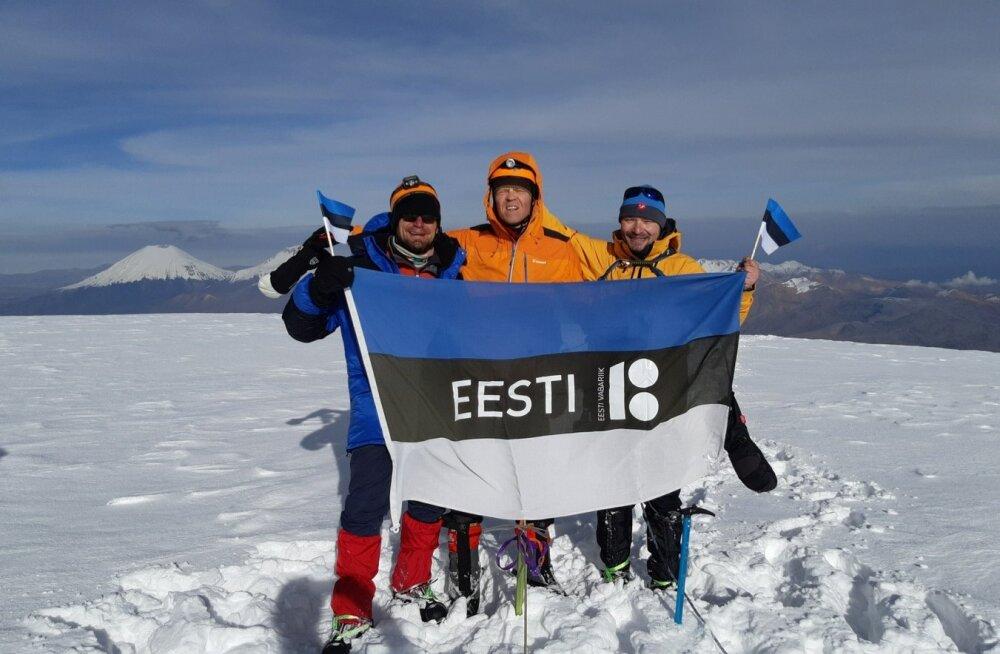 Eestlased Nevado Sajama tipus