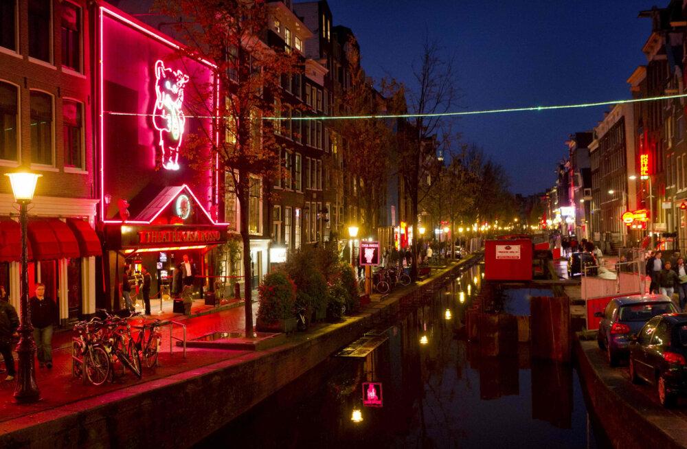 """""""Это унизительно и недопустимо"""": Амстердам может лишиться знаменитого квартала Красных фонарей"""
