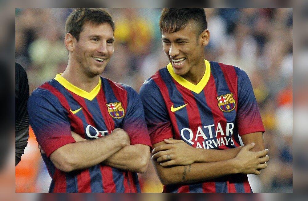 Messi ja Neymar