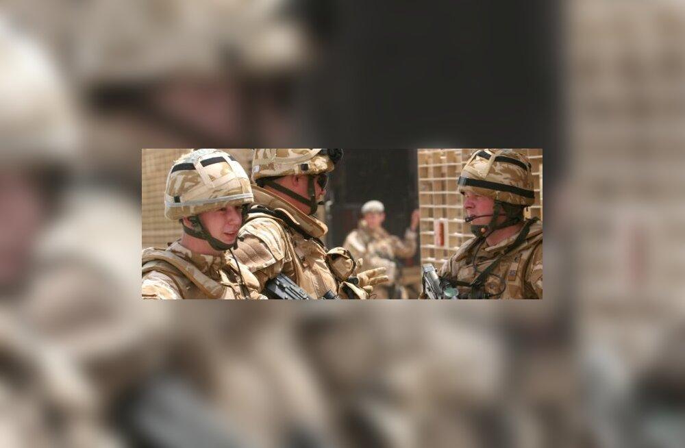 Briti väed tuuakse Iraagist välja juuniks