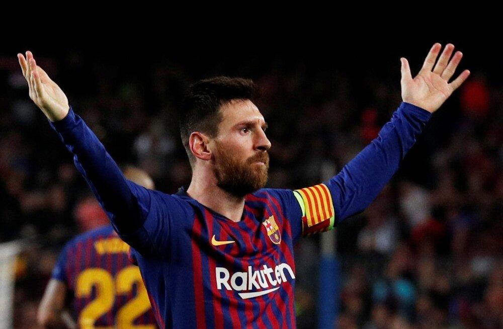 """Lionel Messil on raha just """"nii"""" palju."""