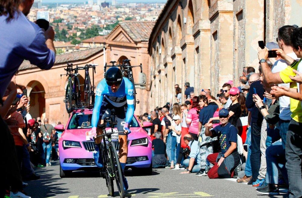 Tanel Kangert Giro d'Italial.