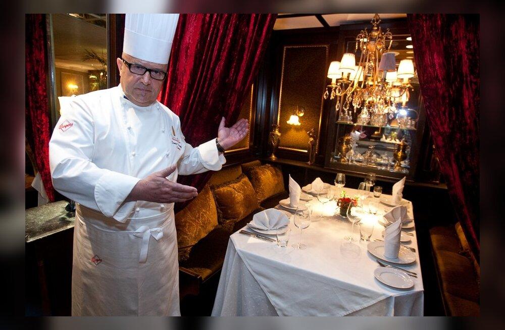 Dimitri Demjanov nimetati Prantsuse Kulinaaria Akadeemia liikmeks