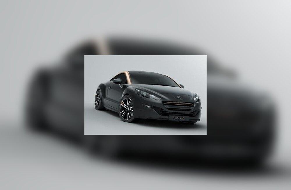 Peugeot näitab juulis RCZ R-i tootmisversiooni