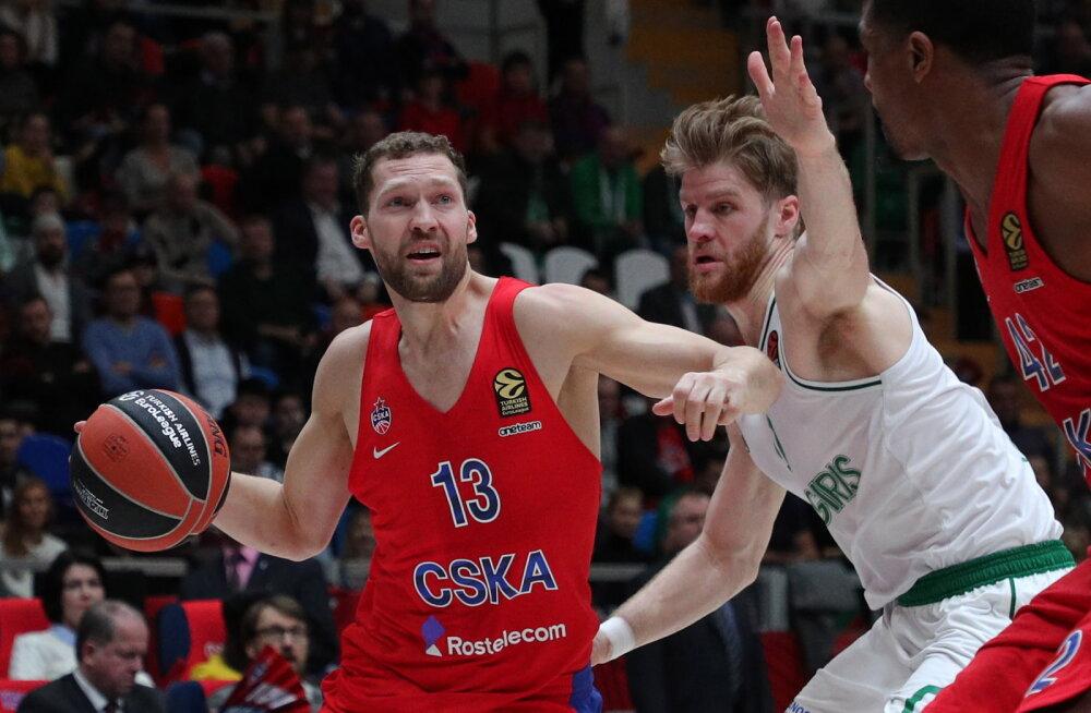 Läti koondislane võib Moskva CSKA-st lahkuda