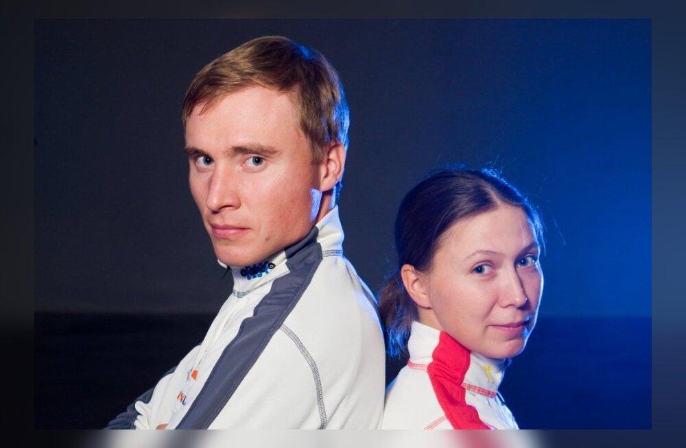 Eveli Saue ja Priit Viks osalevad Suusasõdalase jõuproovil