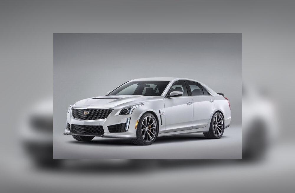 Võimsaim Cadillac üldse: sedaan CTS-V saab 640 hobujõudu
