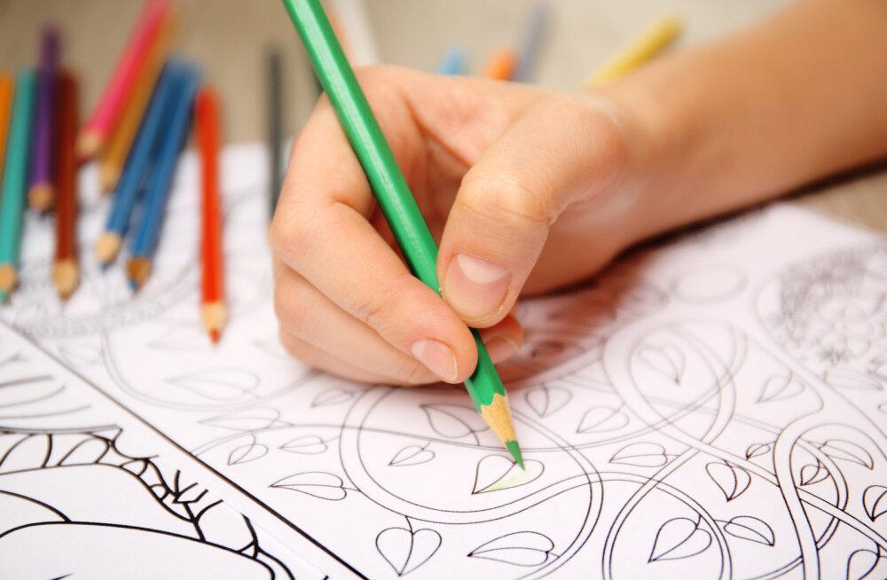 Osho: mõista ja tervenda oma tundeid läbi värvimise ja mõtsikluse
