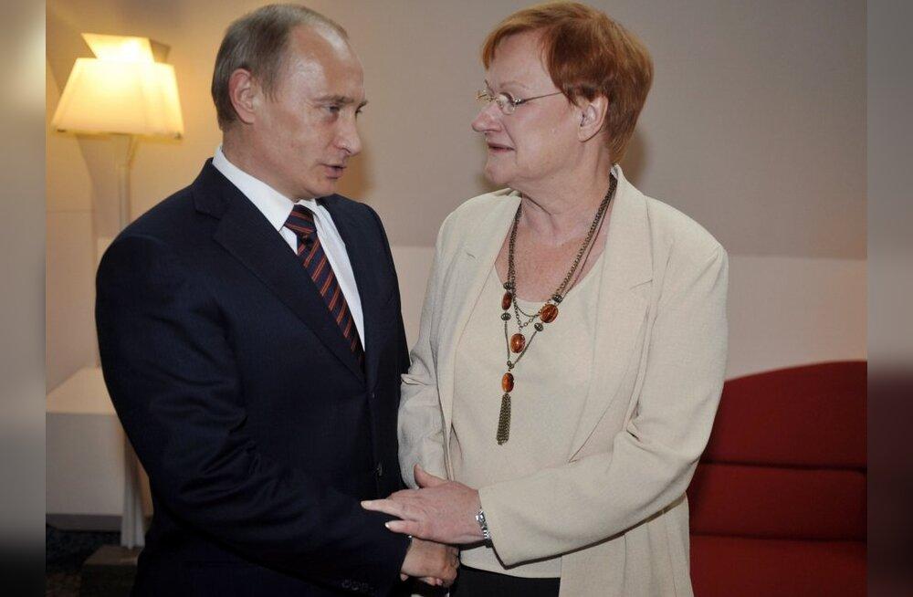 WikiLeaks: Putin ütles Halonenile, et Talvesõda oli viga