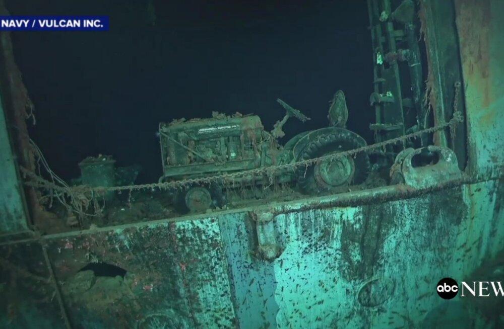 VIDEO | Vaikse ookeani põhjast leiti USA Teise maailmasõja aegse lennukikandja USS Hornet vrakk