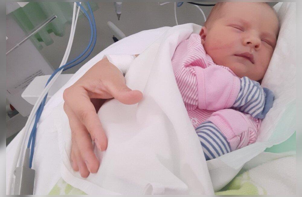 Vaid kuue päeva vanune väike Beatrice vajab elupäästvat südameoperatsiooni