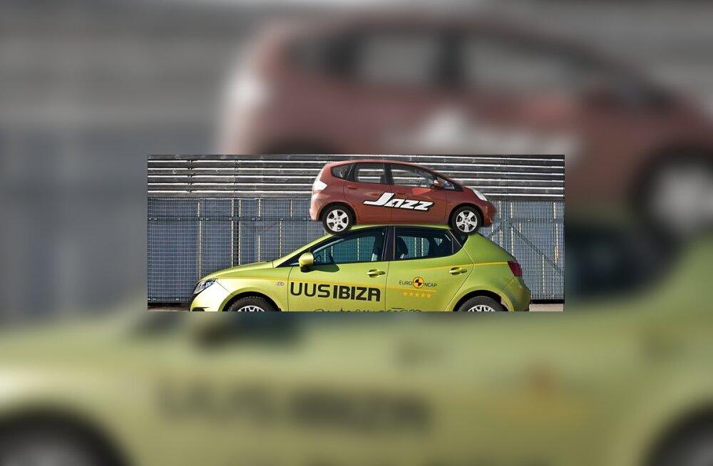 Тест-драйв: Honda Jazz vs Seat Ibiza