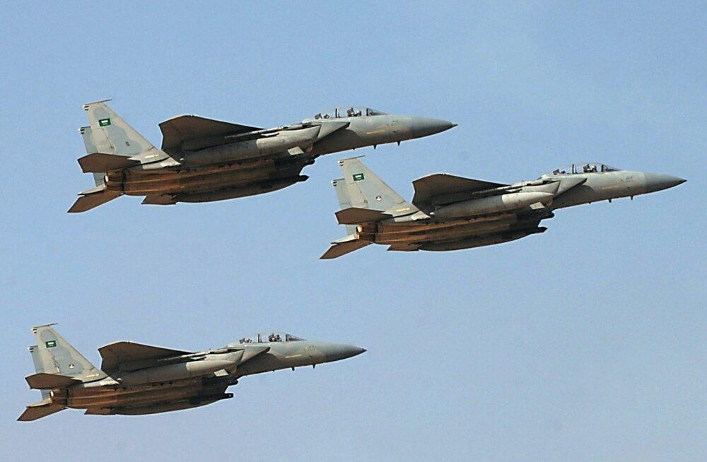 Saudi Araabia teatas õhurünnakute lõpetamisest Jeemenis