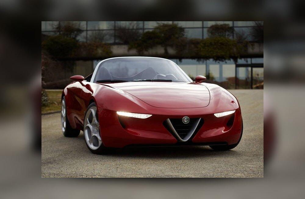 FOTOD: Uus Alfa Romeo rotster - kas selline?