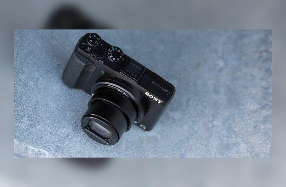 TEST: Sony supersuumkaamera Cyber-Shot HX50V – kilomeetrid muutuvad meetriteks