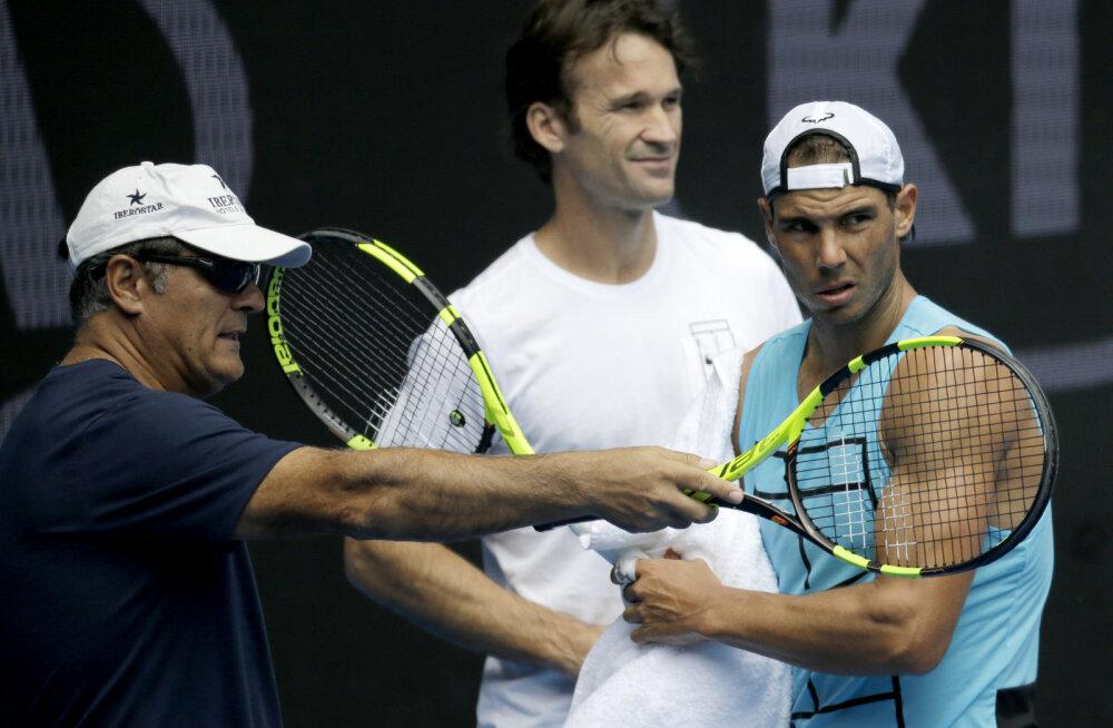 Nadal lõpetab pikaaegse koostöö treenerist onuga