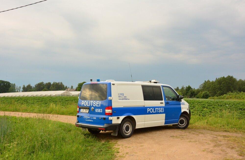 Tartumaal sõtis BMW kraavi ja seal vastu puud; juht on korduvalt kiiruseületamisega silma paistnud