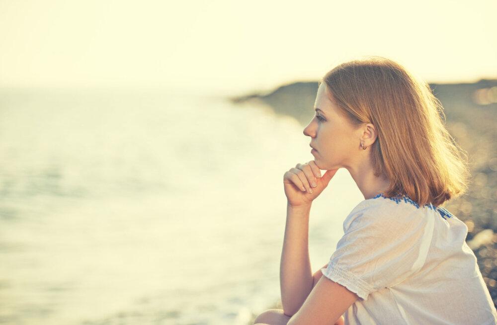 Keskendumine negatiivsele viitab sisemise rõõmu puudumisele