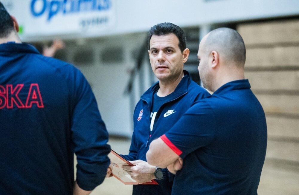 Moskva CSKA korvpalliklubi treening