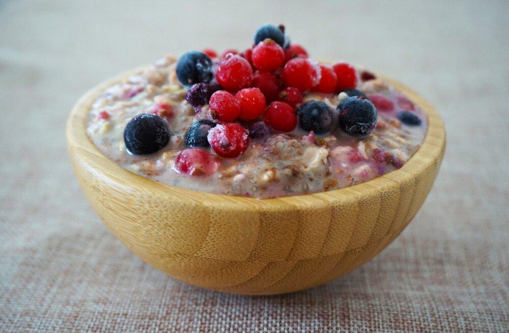Neli põhjust, mis teevad pudrust hommikusöökide kuninga
